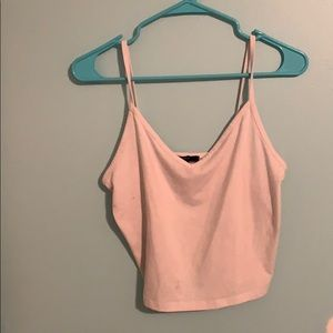 cropped tank from forever 21